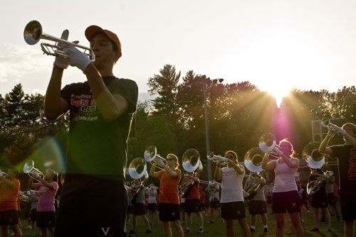Cavalier Marching Band - Open Rehearsal photo by RLB
