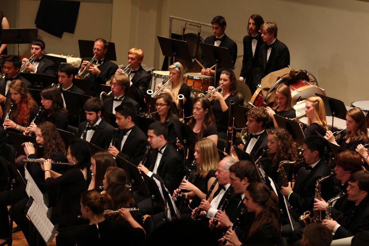 music concert report wind ensemble