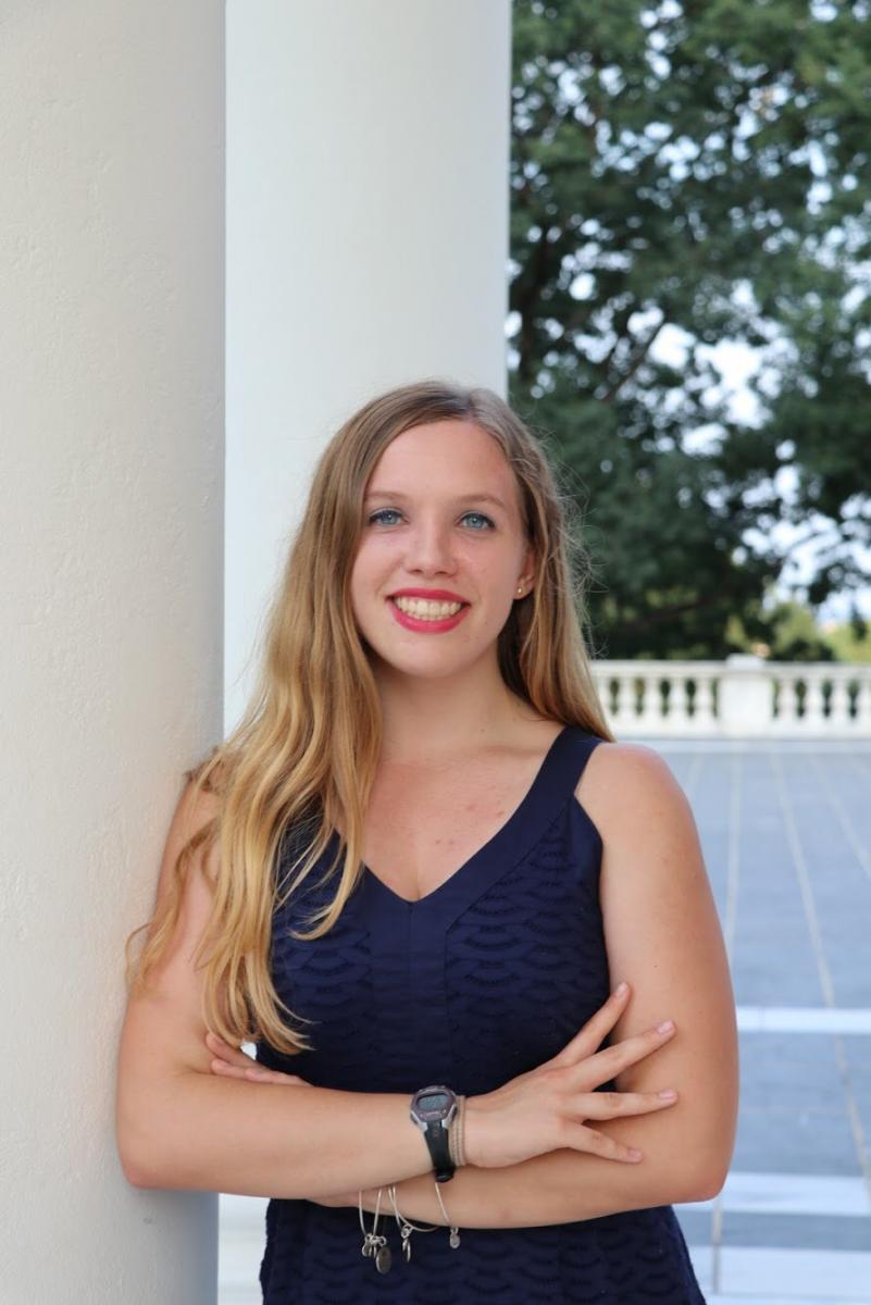 Emily Williams, Distinguished Major 2020