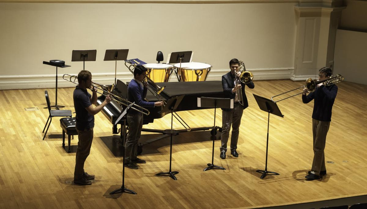 Trombone Ensemble at BrassFest