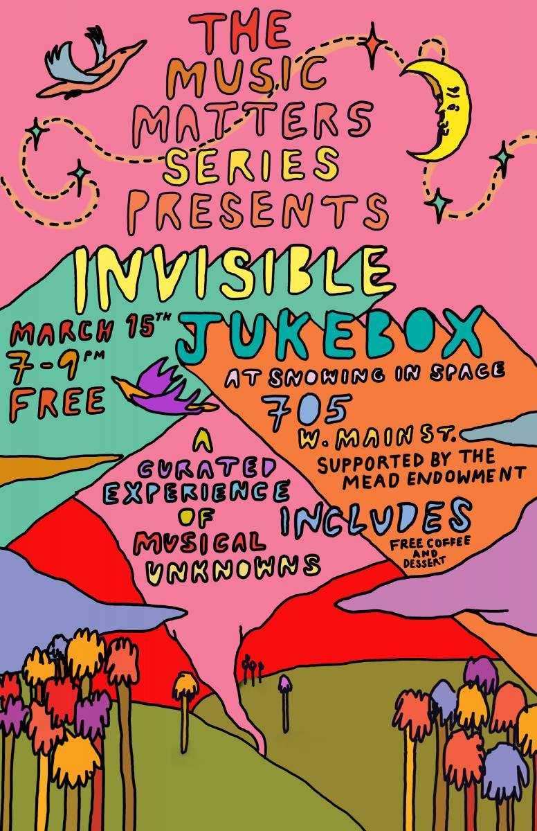 Invisible Jukebox | McIntire Department of Music
