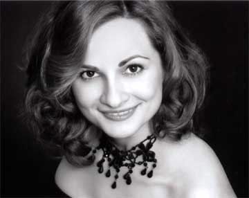 Virginia Opera soprano Veronica Mitina